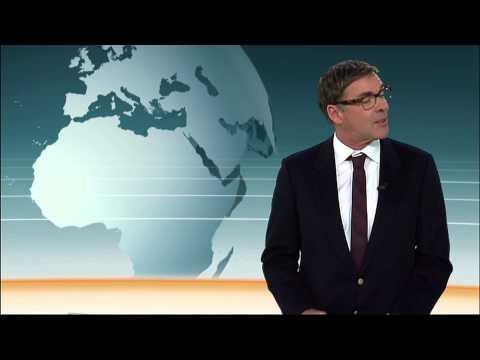 Sascha Hehn moderiert das ZDF heute-journal