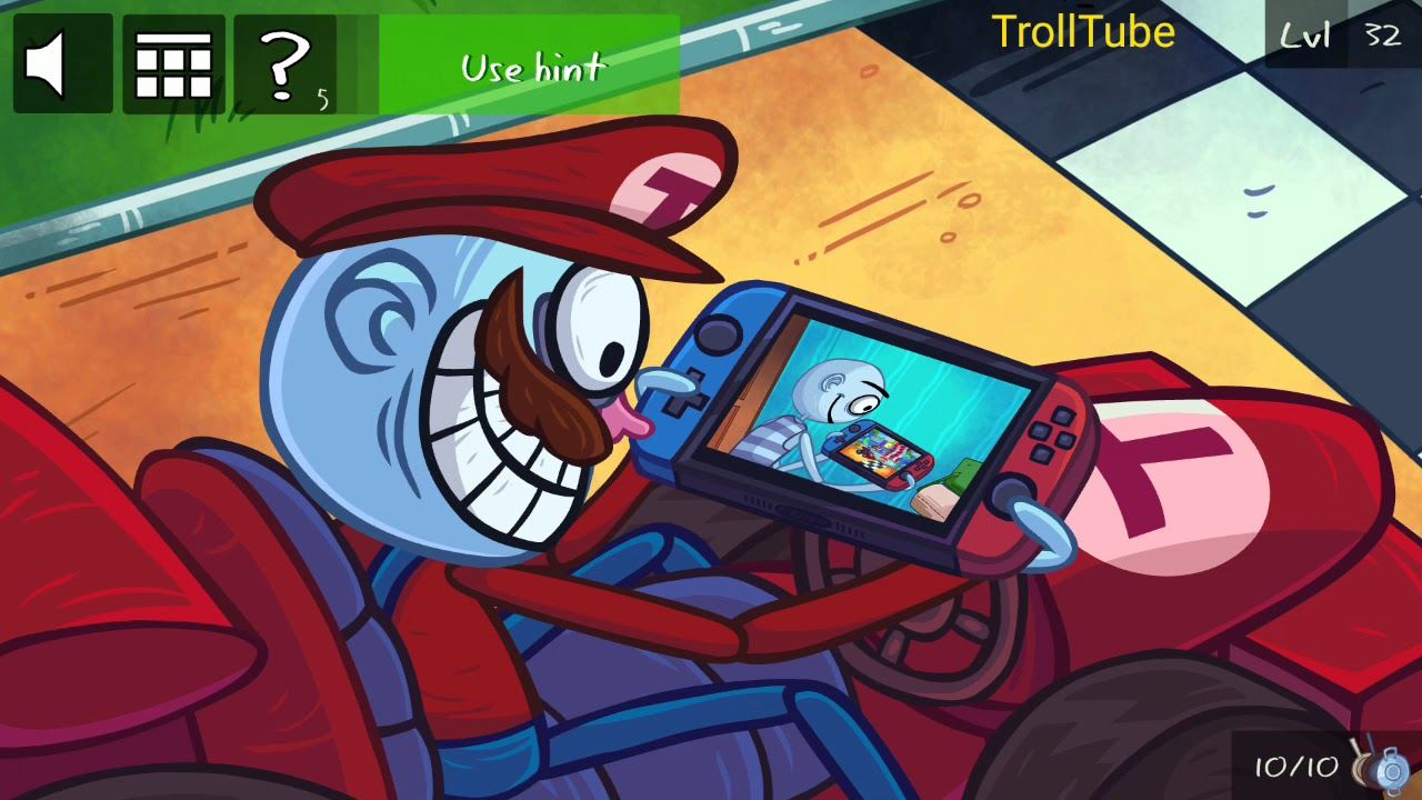 Troll Face Quest Video Games 2 Level 31 32 33 34 35 Solution