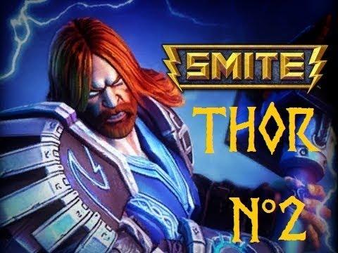 SMITE : THOR poster