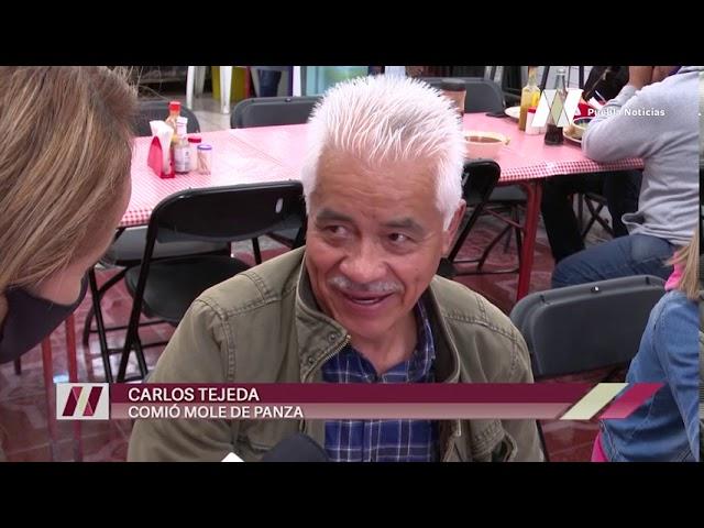 """Pocas personas acudieron a """"curarse la cruda"""" en mercados de #Puebla tras los festejos patrios."""
