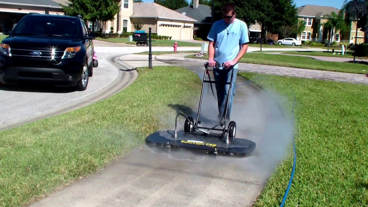 48 Quot Surface Cleaner Cleaning Sidewalk 200 Sq Ft Per