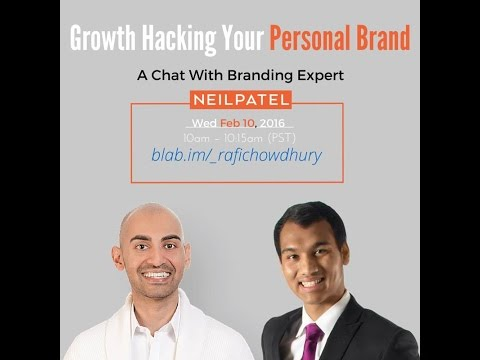 Growth Hacking Your Personal Brand: A Chat with Branding Expert Neil Patel