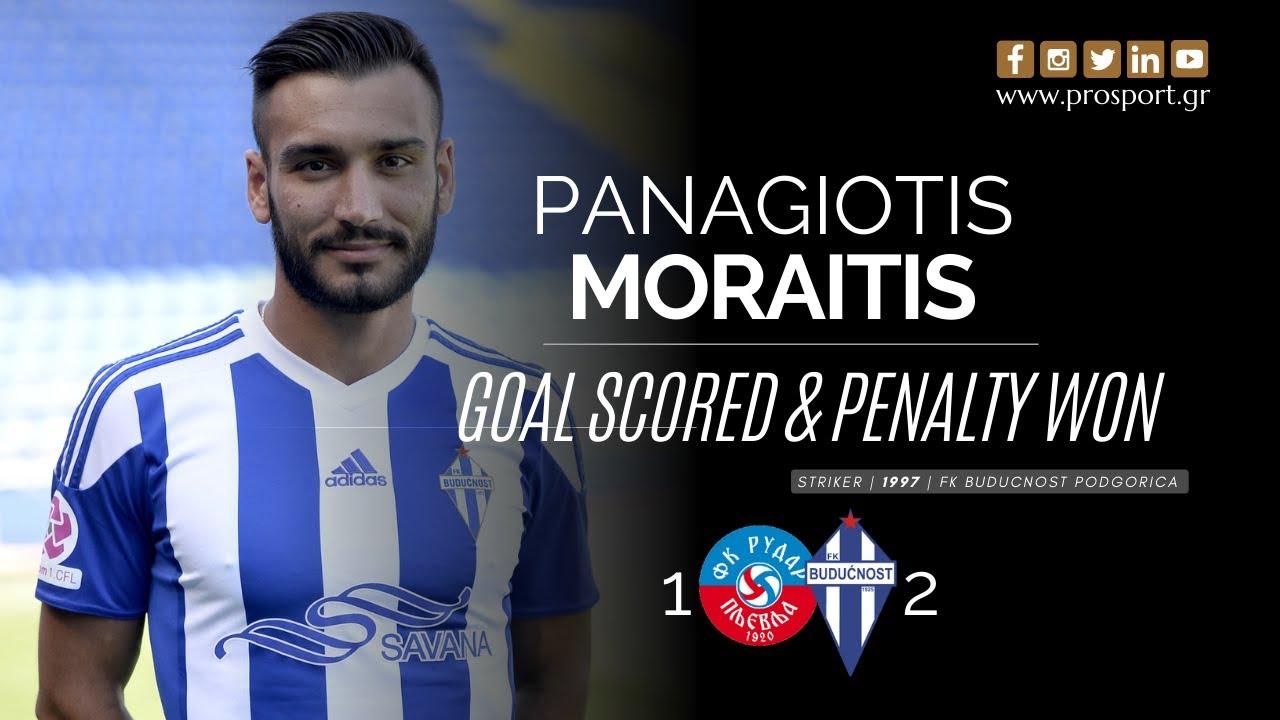 Unstoppable Moraitis for FK Buducnost Podgorica