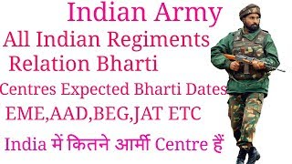 INDIAN ARMY RELATION BHARTI MAY 2018