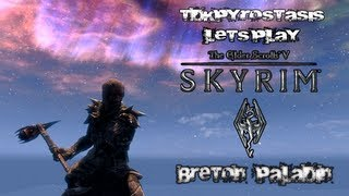 Skyrim Scottish Jesus finds some creepy glowing balls... EP37