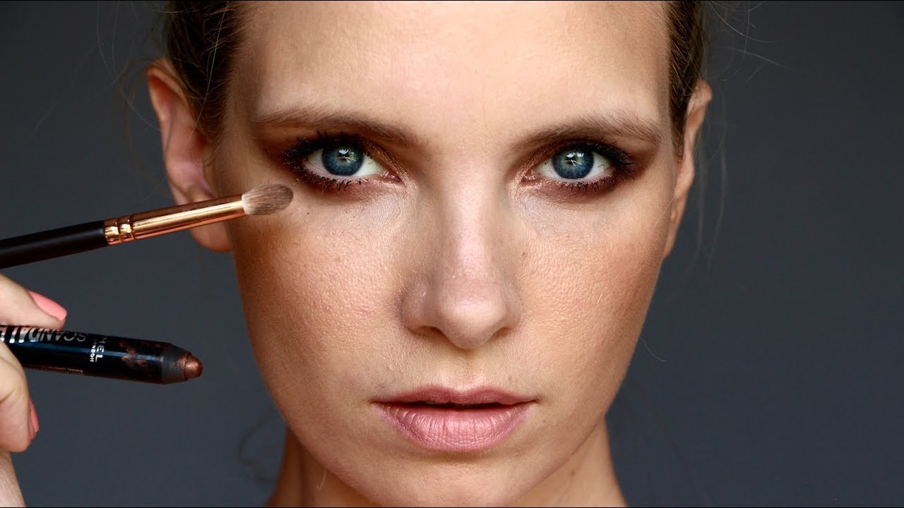 Easy Smokey Eye Makeup A Model Recommends Youtube