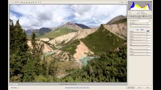 Обработка пейзажа. Часть 1. Полный тоновый диапазон
