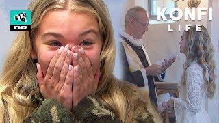 Spray-tan, negle og flot hår: Laura er klar til kirke! (4:6) | Konfi-life | Ultra