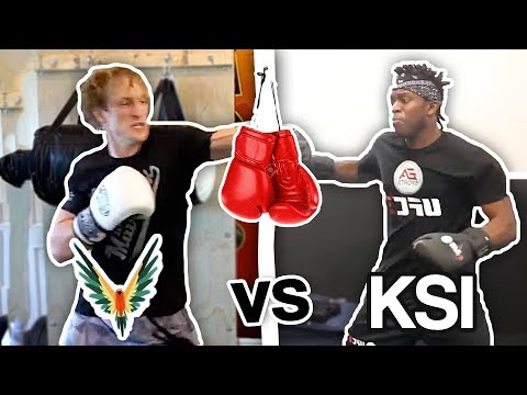 Logan Paul VS KSI Training Battle (who will win the fight ?) **newest footage**