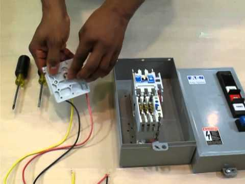 Eaton cutler hammer installing a hand off auto kit on enclosed motor eaton cutler hammer installing a hand off auto kit on enclosed motor control youtube swarovskicordoba Image collections