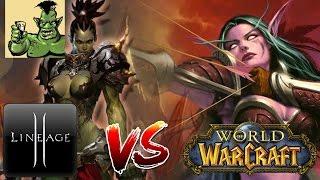 Lineage 2 против World of Warcraft (Warlords of Draenor, Legion, Helios)