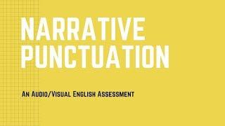 Audio Punctuation Assessment