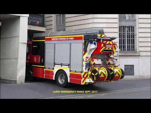 Pompiers de Paris nouveau Fourgon d'Appui Ménilmontant en urgence