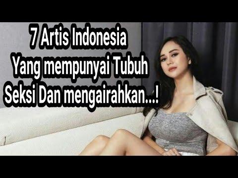 Inilah Top Sepuluh Artis Wanita Terseksi di Indonesia