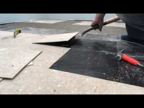 How to remove vct tile from a concrete subfloor diy projects