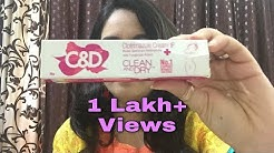 Clean & Dry Cream Review In Hindi | How to Use C&D Cream / Product/ Review