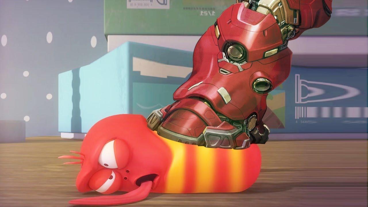 Larva the best funny cartoon 2017 hd la iron man the - Iron man cartoon hd ...