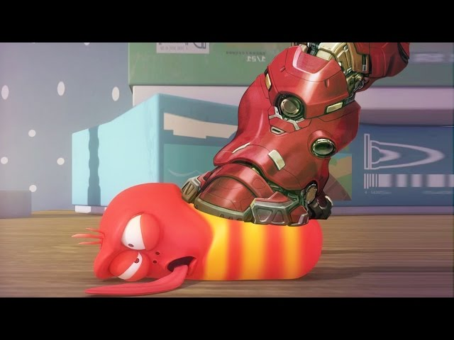 LARVA ❤️ The Best Funny cartoon 2017 HD ► La IRON MAN ❤️ The newest compilation 2017 ♪♪ PART 69