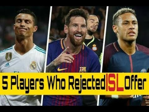 ISL 2017 || 5 star Who Rejected Indian Super League  Offer This Season | Season 4 |