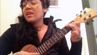 """Diamonds"" Rhianna ukulele cover"