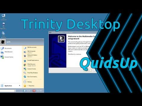 Desktop December - Trinity Desktop Environment