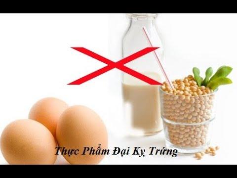 6 thực phẩm tuyệt đối Cấm Kỵ không ăn cùng với Trứng
