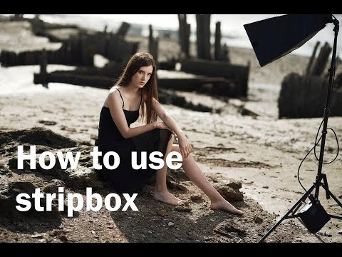 How to Use a Strip Softbox for Portraits in Outdoor Locations
