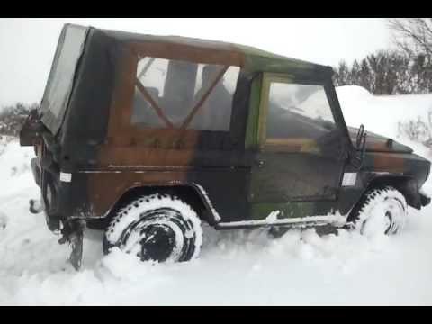 peugeot p4 dans la neige - youtube