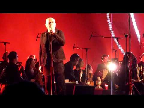 Peter Gabriel - My Body is A Cage - New Blood in London O2 28 March