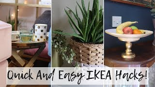 IKEA Hacks and DIYs For Autumn 2018 | Quick and Easy Budget Hacks