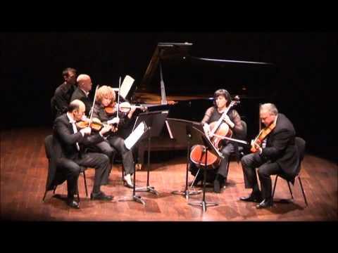 Schumann Piano Quintet, All. ma non tr., A. Guinovart, C. Chivu, A. Presaizen, P. Cortese, M. Manasi