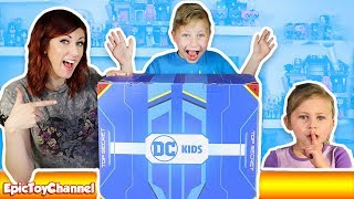 GIANT Teen Titans Go Surprise Box with Justice League Toys - The DC Kids Secret Box Challenge