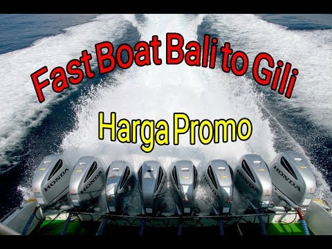 Harga Tiket Fast Boat Bali ke Gili Promo
