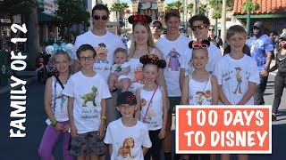 100 days till disney australian family vlog