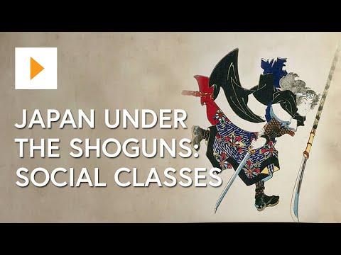 Japan Under the Shoguns - Social Classes Under the Shogunates