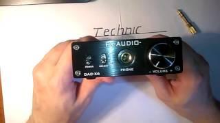 Fx audio китайский ЦАП (обзор)