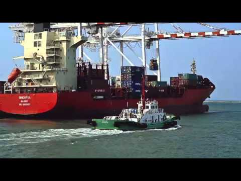 "LaemChabang Port TVC "" Connecting Thailand to the world."""
