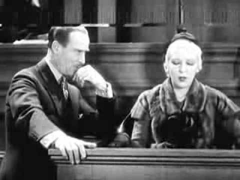 Cross-Examination (1932) COURT ROOM MYSTERY