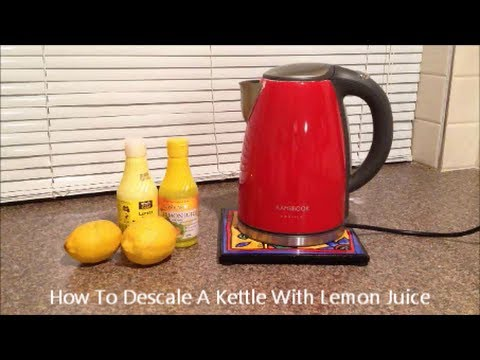 how to get rid of hard water deposits in kettle
