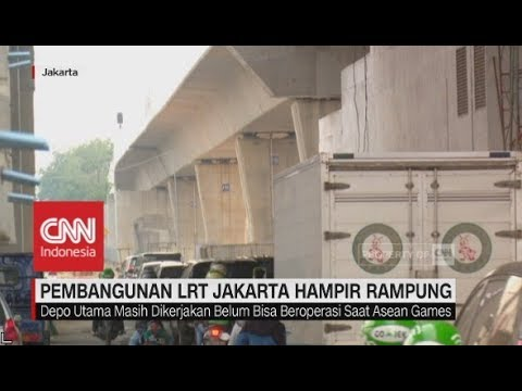 Pembangunan LRT Jakarta Hampir Rampung Mp3