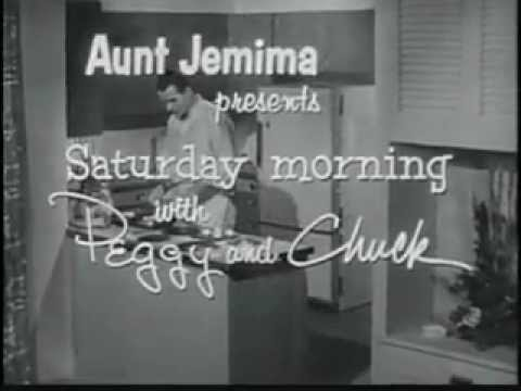 Vintage Old 1950's Aunt Jemima Pancakes with Bananas Commercial