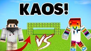 KAOS ÇIKARMA OĞUZ ! Minecraft Chaos Lucky Block w/Oğuz Aslan