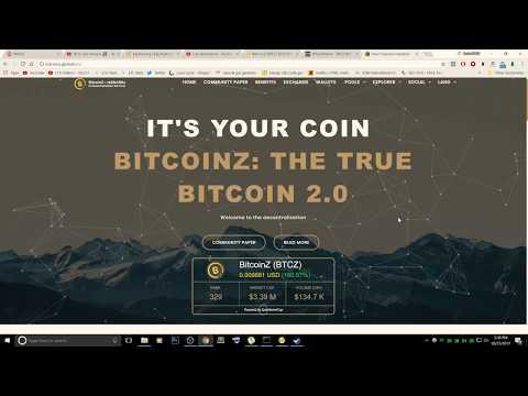 How to Mine BTCZ, Live Mining Stream