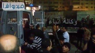 بالفيديو .. آثار انفجار قنبلة بمنطقة الطوابق بالجيزة