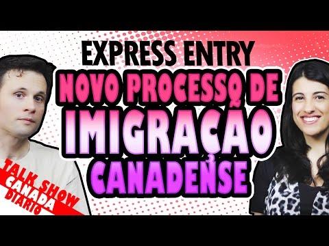 NOVO PROCESSO DE IMIGRAÇÃO CANADENSE EXPRESS ENTRY
