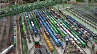 2013,3,30 鉄道模型 Nゲージ 貨物列車 超いろいろいっぱい 大運転会!!