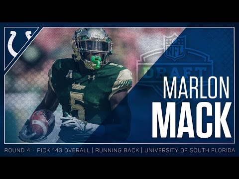 Marlon Mack Welcome to the Colts 2017