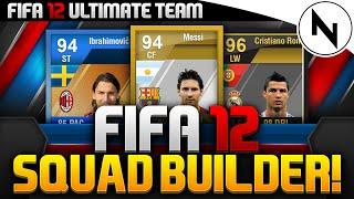 EPIC FIFA 12 SQUAD BUILDER!