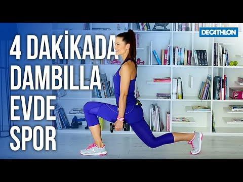 4 Dakikada Dambılla Evde Spor - Decathlon Türkiye