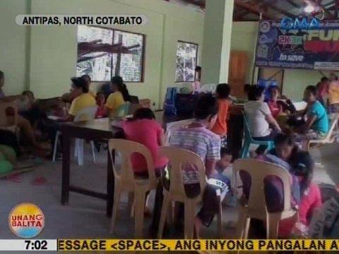 UB: Mga residente sa Antipas, North Cotabato, napilitang lumikas dahil sa bakbakan ng militar at NPA